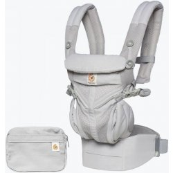 Ergobaby OMNI 360 COOL AIR MESH + DÁREK Pearl Grey