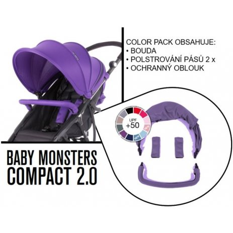 Baby Monsters COMPACT color pack Fialový