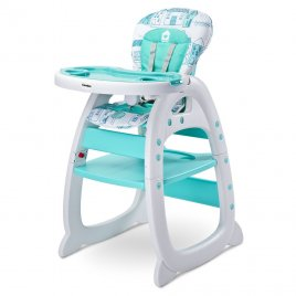 Caretero Jídelní židlička CARETERO HOMEE mint