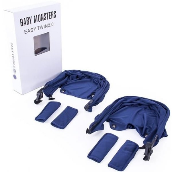 Baby Monsters EASY TWIN Color pack 3.(2x) 2018 Tm.modrý