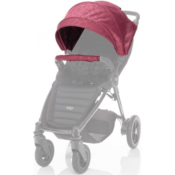 Britax Barevný set ke kočárku B-Agile 4 Plus/B-Motion 3/4 Plus Limited 2018 Geometric Wine Red