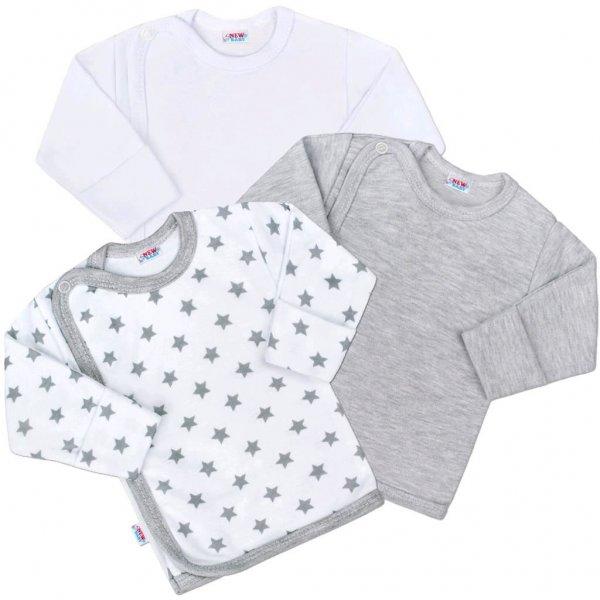 New Baby Kojenecká košilka New Baby Classic II Uni 3ks