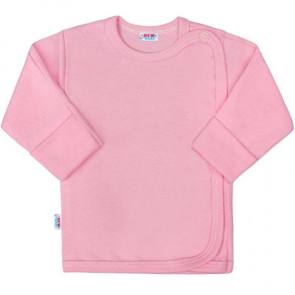 New Baby Kojenecká košilka New Baby Classic II růžová Růžová