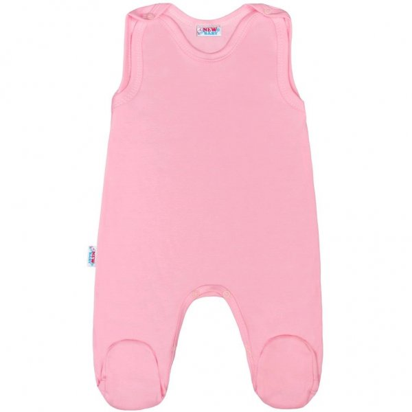 New Baby Kojenecké dupačky New Baby Classic II růžové Růžová