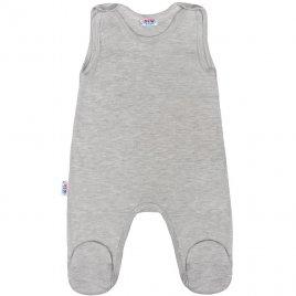 New Baby Kojenecké dupačky New Baby Classic II šedé