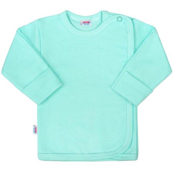 New Baby Kojenecká košilka New Baby Classic II mátová Mátová