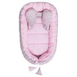 Belisima Hnízdečko pro miminko Minky Sweet Baby Belisima růžové