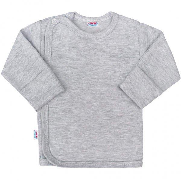 New Baby Kojenecká košilka New Baby Classic II šedá Šedá