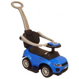 Baby Mix Dětské hrající jezdítko 3v1 Baby Mix modré