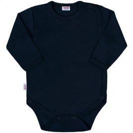 New Baby Kojenecké celorozepínací body New Baby Classic II tmavě modré