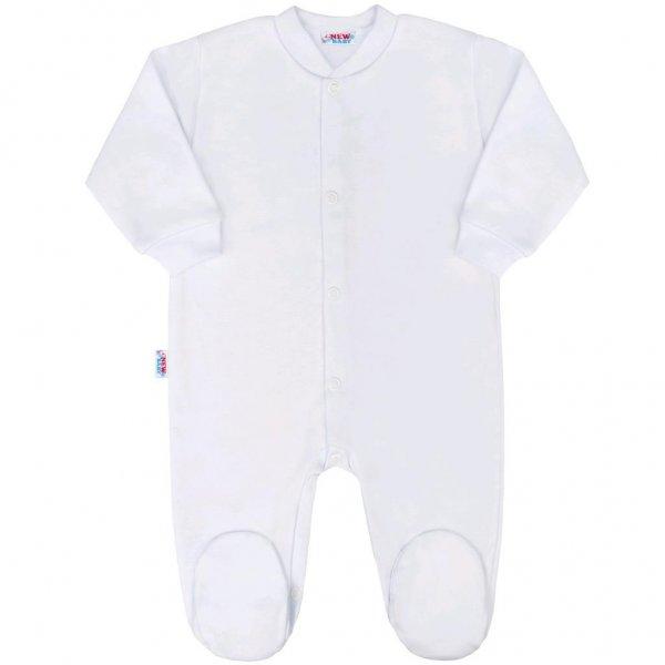 New Baby Kojenecký overal New Baby Classic bílý Bílá