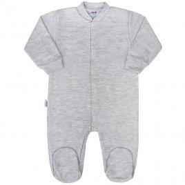 New Baby Kojenecký overal New Baby Classic II šedý