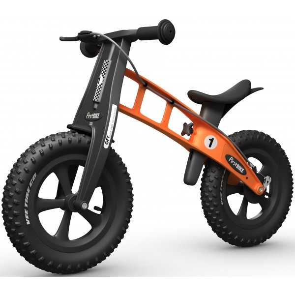 FirstBike Odrážedlo FAT Orange