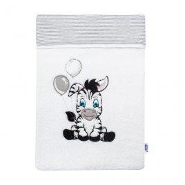 New Baby Luxusní dětská zimní deka New Baby Zebra 110x90 cm