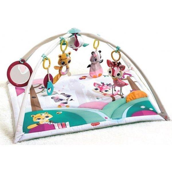 Tiny Love Hrací deka s hrazdou Gymini Tiny Princess Tales Bílá