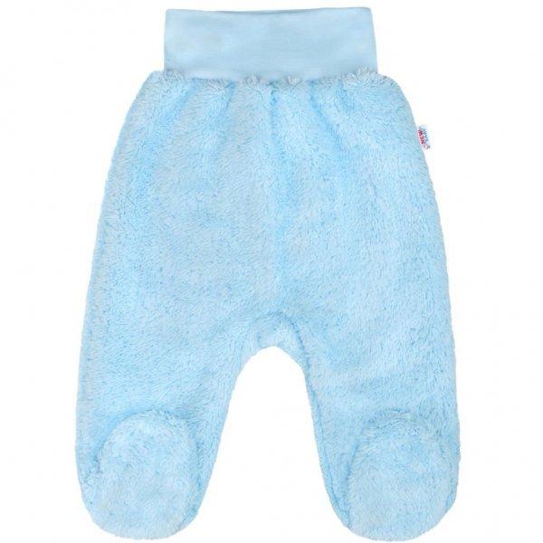 New Baby Zimní polodupačky New Baby Nice Bear modré Modrá