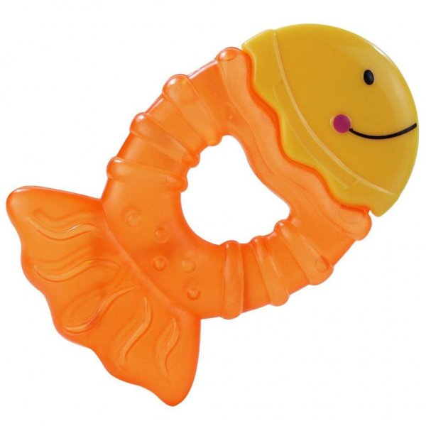 Baby Mix Chladící kousátko Baby Mix rybka Žlutá