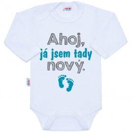 New Baby Body s potiskem New Baby Ahoj, já jsem tady nový.