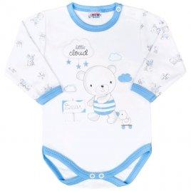 New Baby Kojenecké body New Baby Bears modré