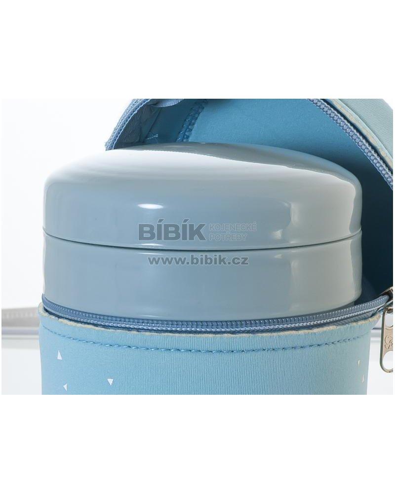 Miniland Termoska Thermic a kelímky na jídlo 700ml Blue   Bibik.cz a1f6f93b351