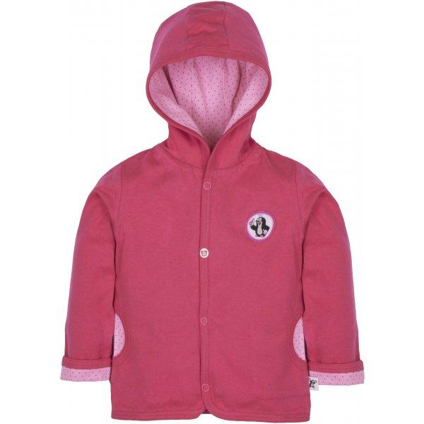Gmini Kabátek oboustranný děvče KRTEK kuchař Růžová