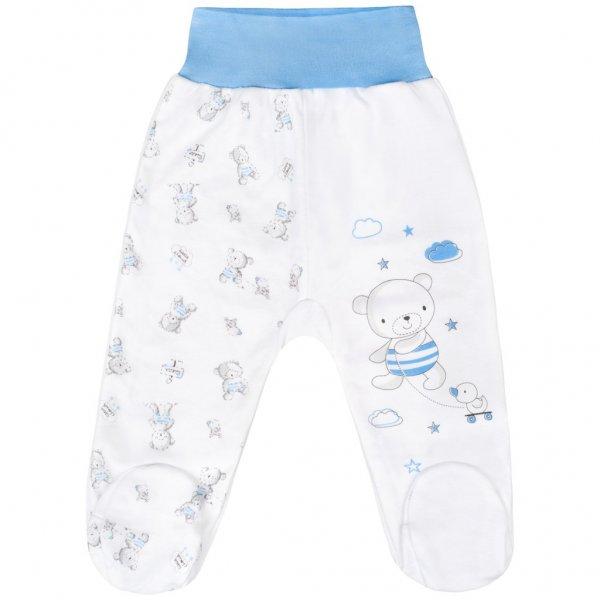 New Baby Kojenecké polodupačky New Baby Bears modré Modrá