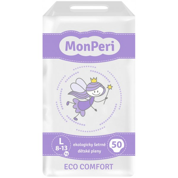MonPeri Pleny ECO comfort L Fialová