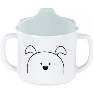 Lässig Cup with Silicone Little Chums Dog