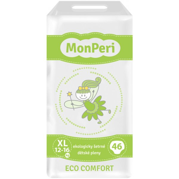 MonPeri Pleny ECO comfort XL Zelená