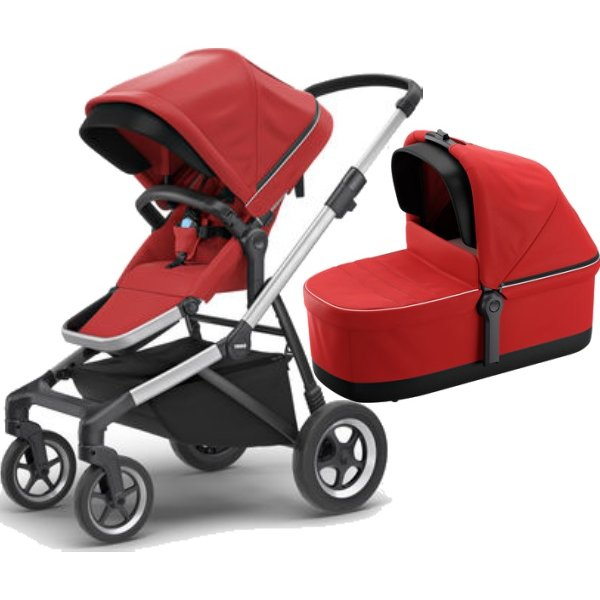 Thule SLEEK S KORBIČKOU Energy Red