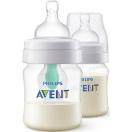 Avent Láhev Anti-colic 125 ml s ventilem AirFree, 2 ks