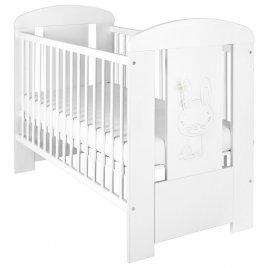 New Baby Dětská postýlka New Baby Králíček standard