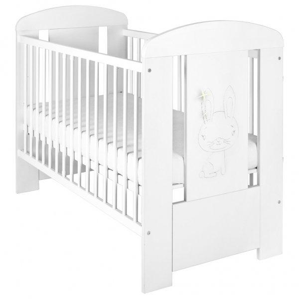 New Baby Dětská postýlka New Baby Králíček standard bílá Bílá