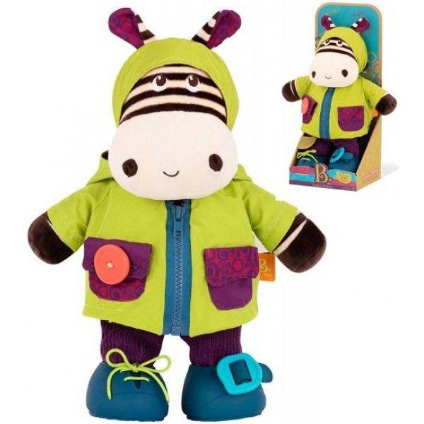B.toys Převlékací zebra Zebb Zelená