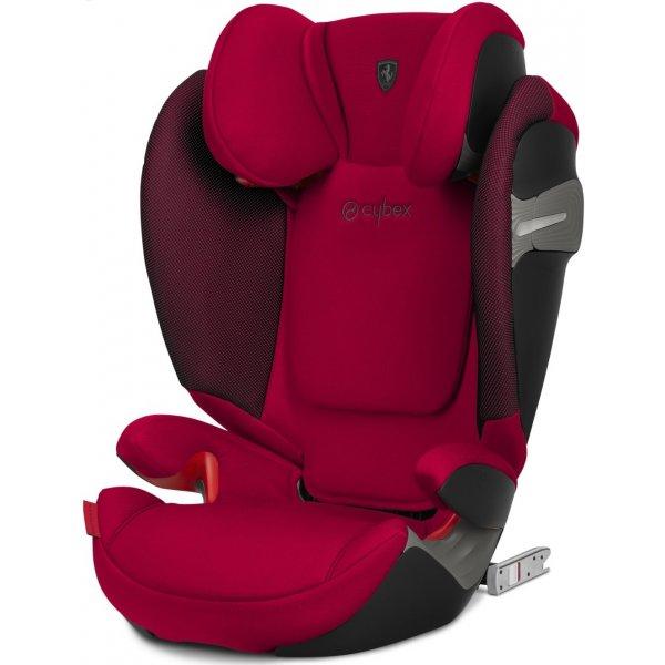 Cybex Solution S-Fix Ferrari autosedačka 2021 Racing Red
