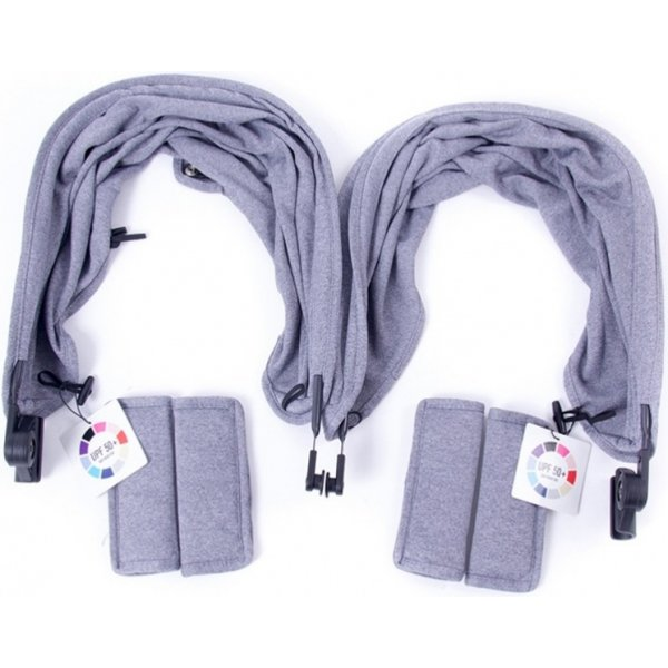 Baby Monsters EASY TWIN c/p impregnovaný (2x) H.grey