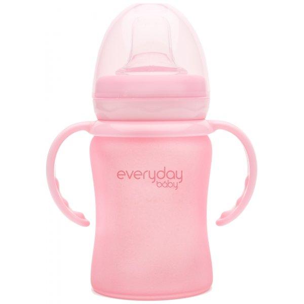 Everyday Baby Hrneček sklo, odolný, 150ml Rose Pink