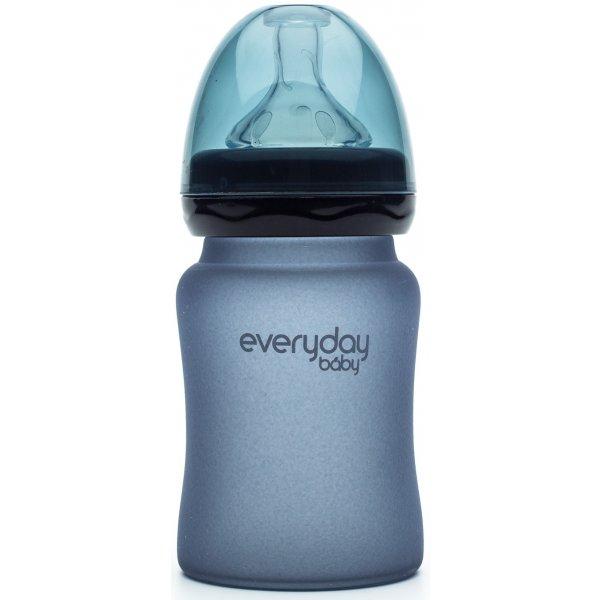Everyday Baby Láhev sklo, senzor, 150ml Blueberry
