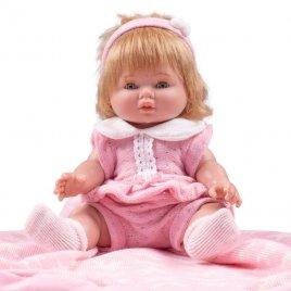 Berbesa Luxusní dětská panenka-miminko Berbesa Amalia 34cm