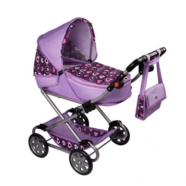 New Baby Dětský kočárek pro panenky 2v1 New Baby Andrea Fialová