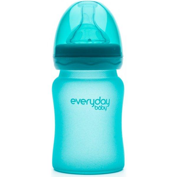 Everyday Baby Láhev sklo, senzor, 150ml Turquoise