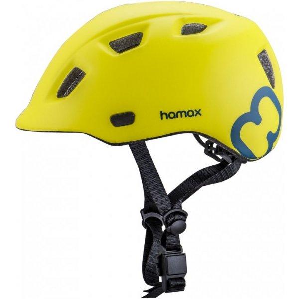 Hamax Cyklohelma Thundercap Zelená / modré pásiky