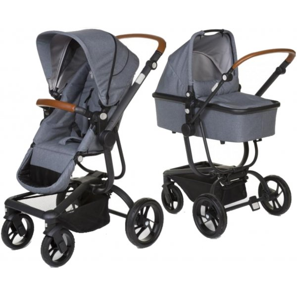 Childhome Urbanista 2v1 2019 Canvas Grey