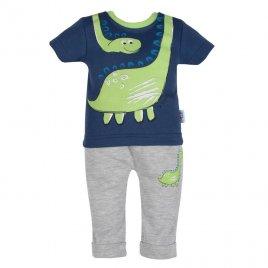 New Baby Kojenecké tričko s krátkým rukávem a tepláčky New Baby Dino
