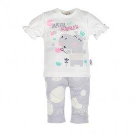 New Baby Kojenecké tričko s krátkým rukávem a tepláčky New Baby Queen