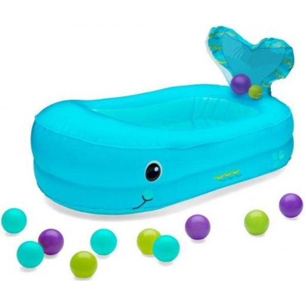 Infantino Nafukovací vanička Velryba Modrá