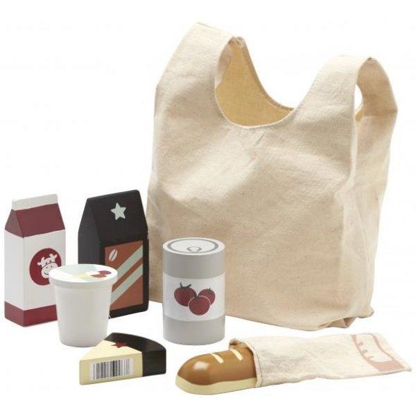 Kids concept Nákupní taška s nákupem Béžová