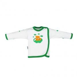 New Baby Kojenecká bavlněná košilka New Baby Liška