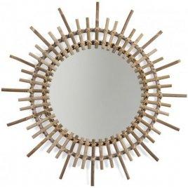 Childhome Zrcadlo ratanové kulaté 60 cm