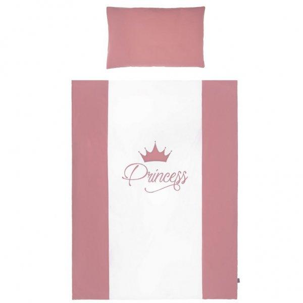 BELISIMA 5-dílné ložní povlečení Belisima Royal Baby 100/135 růžové Růžová